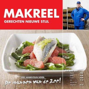 Makreel, gerechten nieuwe stijl