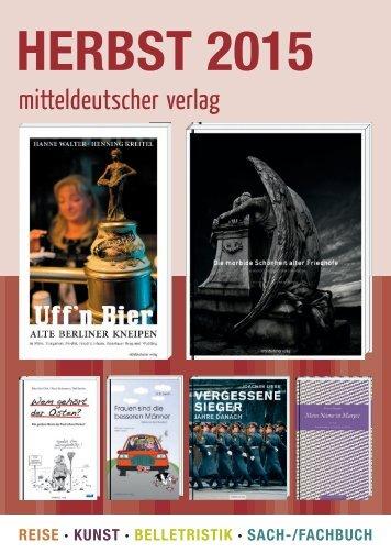 2015 Mitteldeutscher Verlag Herbst Katalog