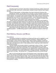 Fish Community Fish Habitat, Streams and Rivers - Lakefield Herald