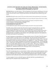 Section 5, Appendix A & B - North Carolina Department of Juvenile ...