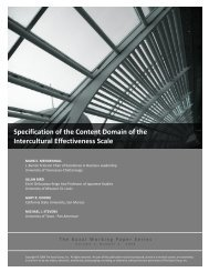 Specification of the Content Domain of the ... - Kozai Group