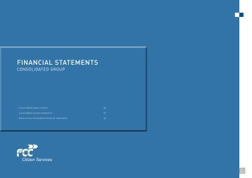 fINANCIAL STATEMENTS - FCC