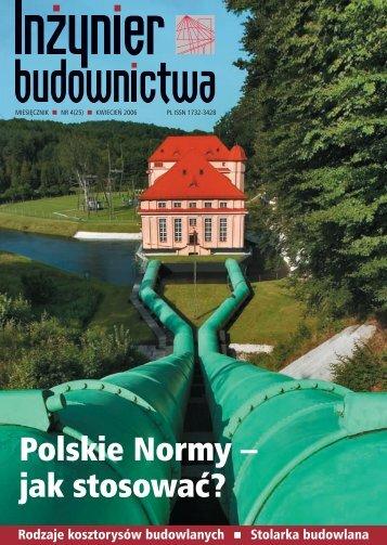 Polskie Normy – jak stosować ? - Polska Izba Inżynierów Budownictwa