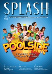Apr/May 12 - Singapore Swimming Club