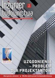 Styczeń 2013 (plik pdf 8.55MB) - Polska Izba Inżynierów Budownictwa