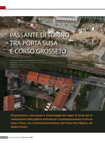 passante di torino tra porta susa e Corso Grosseto - Ordine dei ...