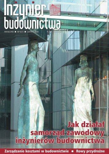 Czerwiec 2006 - Polska Izba Inżynierów Budownictwa