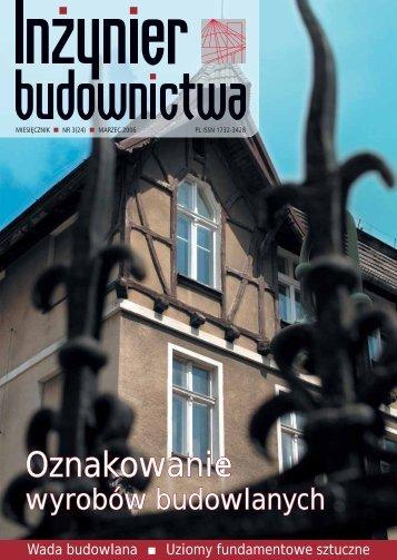 Oznakowanie - Polska Izba Inżynierów Budownictwa