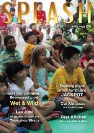 Splash (Apr/May 10) - Singapore Swimming Club