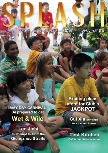Splash (Apr/May 10) - Singapore Swimming Club