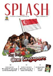 Splash (Aug/Sep 13) Issue! - Singapore Swimming Club
