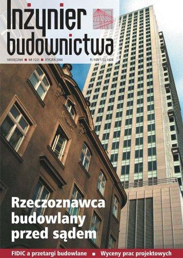 Styczeń 2006 - Polska Izba Inżynierów Budownictwa
