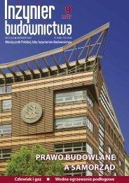 Wrzesień 2007 - Polska Izba Inżynierów Budownictwa
