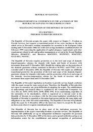 1 republic of slovenia intergovernmental conference on the ...