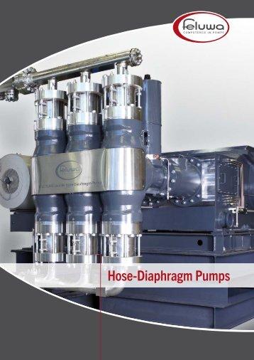 Hose-Diaphragm Pumps - Von Rohr ARCA BV
