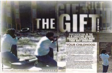 """""""inSights"""" Magazine: """"The Gift"""" - Colorado 4-H Shooting Sports ..."""