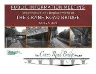 the crane road bridge the crane road bridge - Westchester County ...