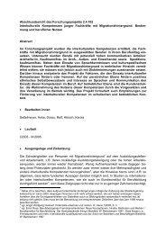 Interkulturelle Kompetenzen junger Fachkräfte - BEA. - Training ...