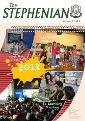 Issue 35 - Semester 1, 2012 - St. Stephen's School