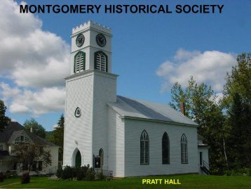 Society Brief 9MB - Montgomery Historical Society