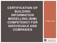 (bim) competency for individuals and companies