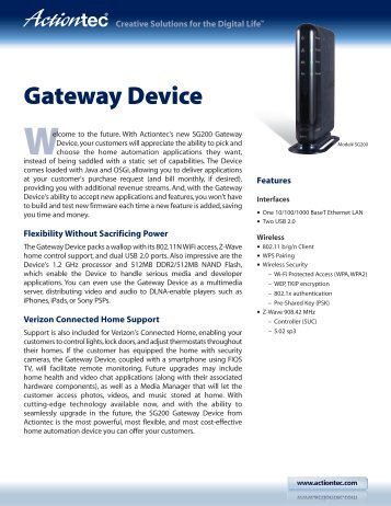 Actiontec r1000h Router Manual