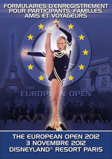 the european open 2012 3 novembre 2012 disneyland® resort paris