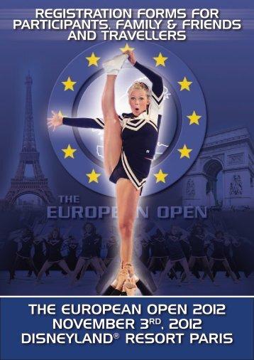 the european open 2012 november 3rd, 2012 disneyland® resort ...