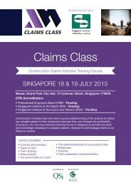 Download Flyer - Singapore Institute of Building Limited