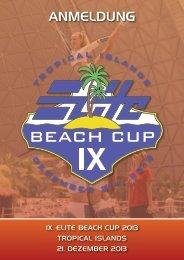 Anmeldeformulare Beach Cup 2013 (deutsch) - ELITE Cheerleading