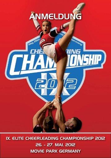 ANMELDUNG - ELITE Cheerleading