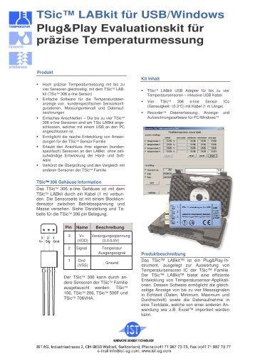 (IST TSic LABkit für PC USB D V2.2)