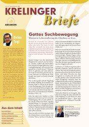 Gedanken zur Jahreslosung 2007 - Geistliches Rüstzentrum Krelingen