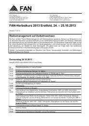 Programm - FAN