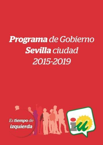 Programa de gobierno 2015-2019