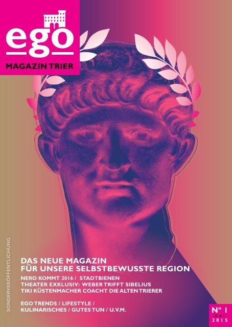 ego Magazin Trier - Ausgabe 1