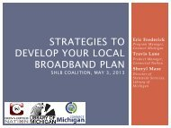Strategies to develop your local broadband plan - shlb