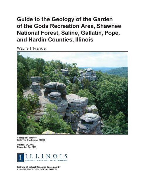 Guide To The Geology Of The Garden Of The Gods Recreation Area