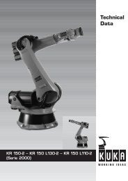 Technical Data - Robotic TurnKey Solutions