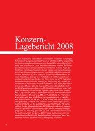 Konzern- Lagebericht 2008