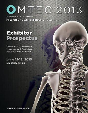 Exhibitor Prospectus (PDF) - omtec