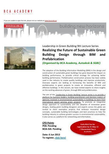 Realizing the Future of Sustainable Green Building Design through ...