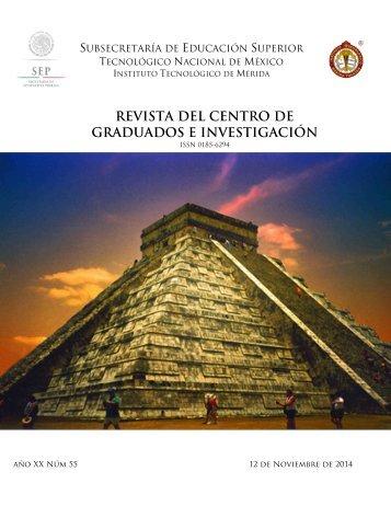 REVISTA DEL CENTRO DE GRADUADOS E INVESTIGACIÓN