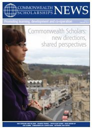 Commonwealth Scholarships News
