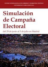 Simulación de Campaña Electoral 2015  CIGMAP UCJC