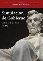 Simulación de Gobierno 2015 CIGMAP UCJC
