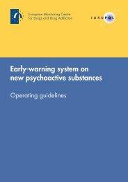 Early-warning system on new psychoactive substances - EMCDDA