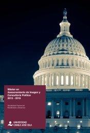 Máster en Asesoramiento de Imagen y Consultoría Política 2015 - 2016