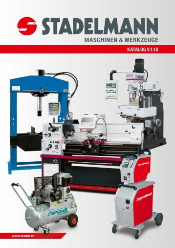 Stadelmann Maschinen Hauptkatalog-Update Mai 2018