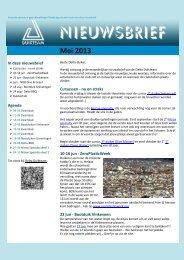Nieuwsbrief juni 2013 - Delta Duikteam
